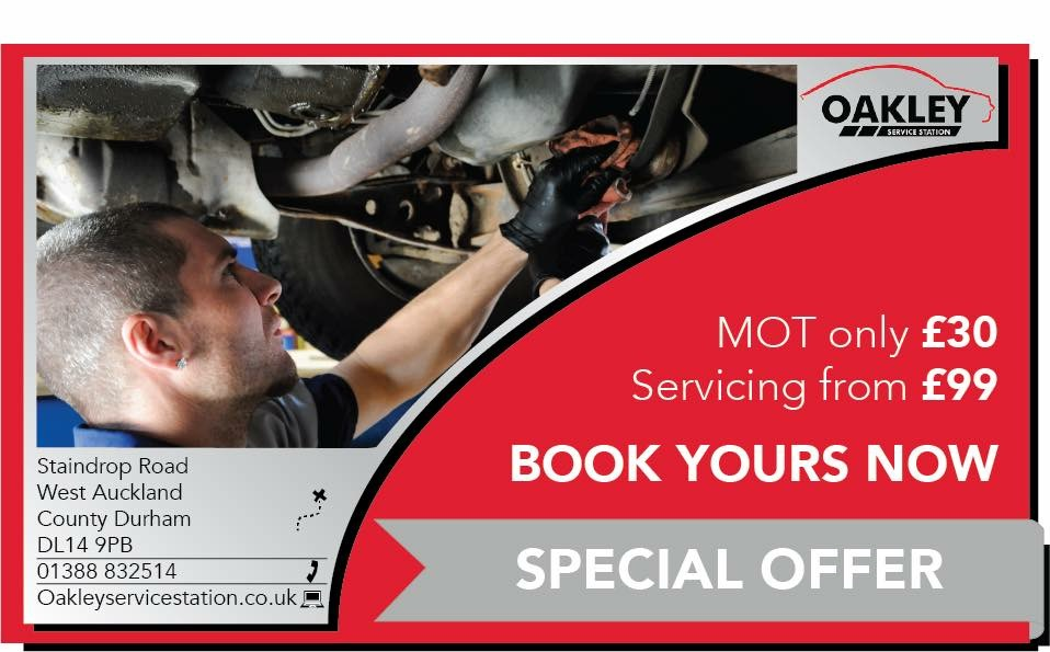 Oakley MOT and Service Offer